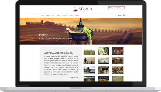 MioVin - Sito per cantine - KAUKY.COM Web Agency Pavia
