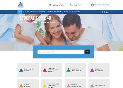 Realizzazione sito web htc Centro Medico Stradella