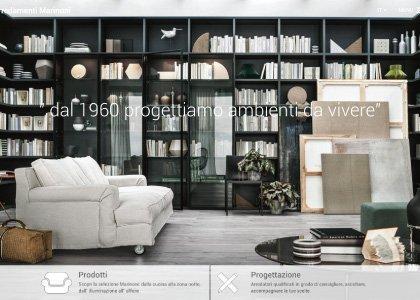 Sito Web Arredamenti Marinoni - KAUKY.COM