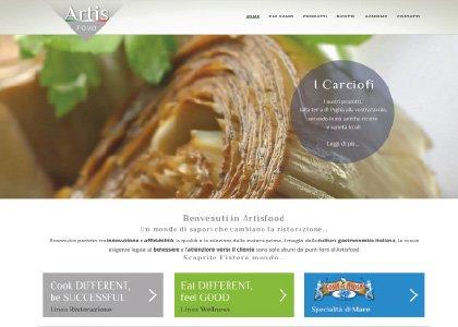 Sito Web Artisfood - KAUKY.COM