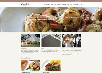 Sito Web Ristorante Bardelli - KAUKY.COM