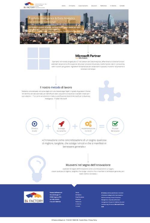 Sito Web BiFactory