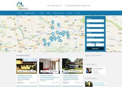 Sito Web Brickasa Immobiliare - KAUKY.COM