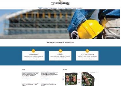 Sito Web Costruzioni Delmonte - KAUKY.COM