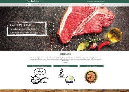 Sito Web De Amicis Spa - KAUKY.COM