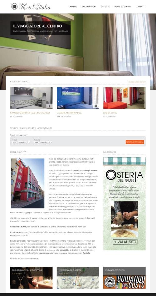 Sito Web Hotel Italia