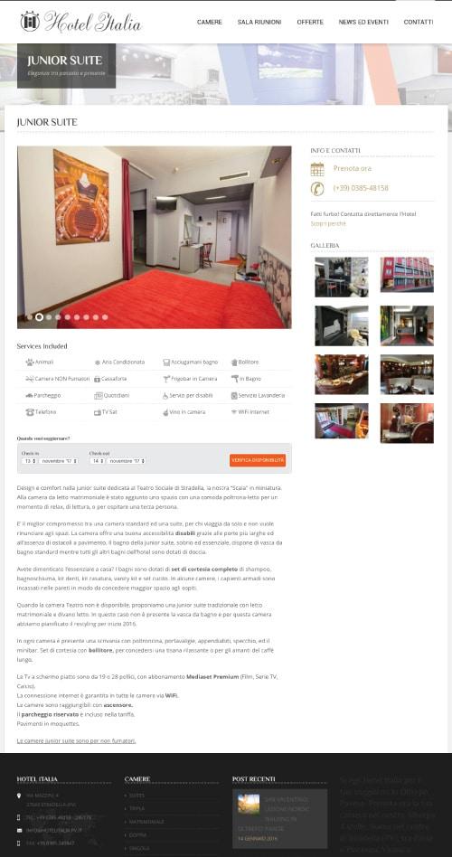 Sito Internet Hotel Italia