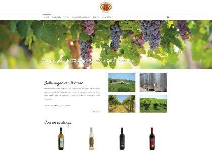 Sito Web Azienda Vitivinicola Vigano - KAUKY.COM