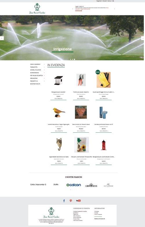 eCommerce Magento 2 Your Secret Garden