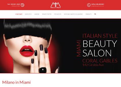 Realizzazione Sito Web Milano in Miami