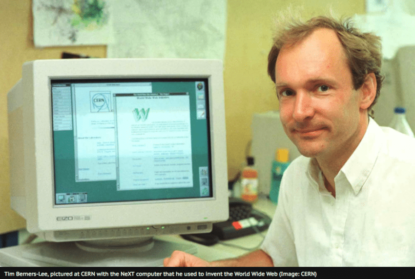 Tim Berners Lee CERN