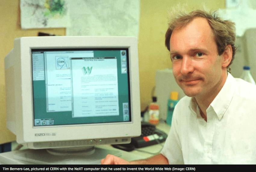 Tim Berners Lee CERN
