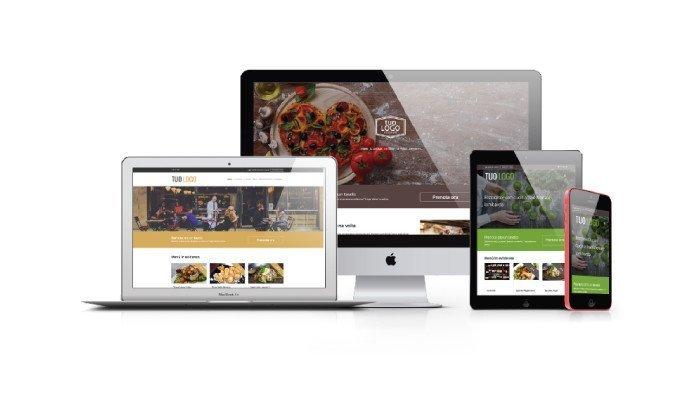 Sito web dal design responsive