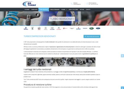 BS Turbo Realizzazione Sito Web