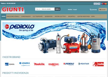Elettromeccanica Giunti Upgrade Magento2