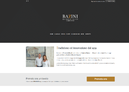 Ristorante Bazzini Sito web