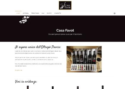 Realizzazione sito web casa favot