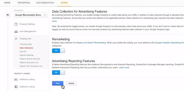 remarketing google analytics