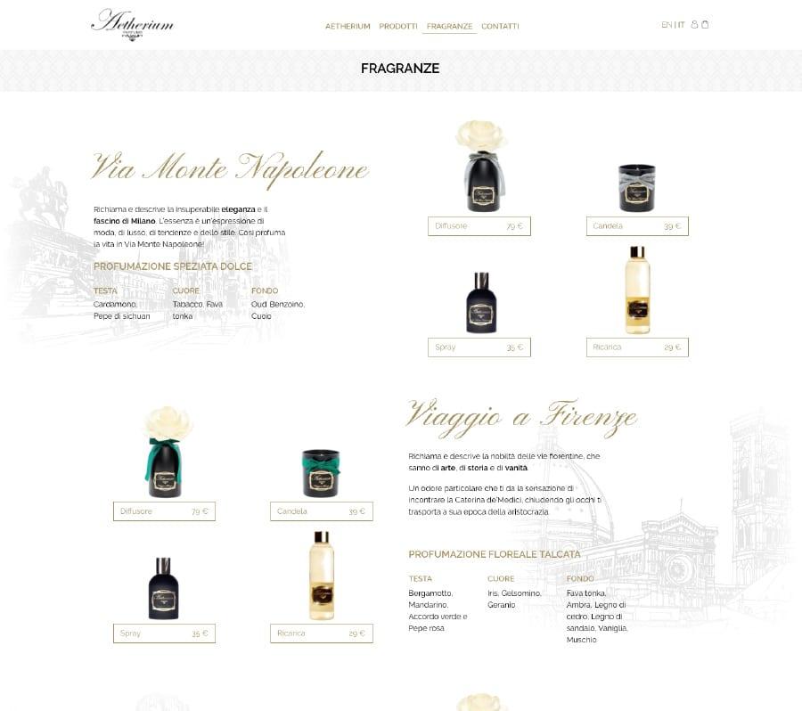 Portfolio Aetherium Fragranze