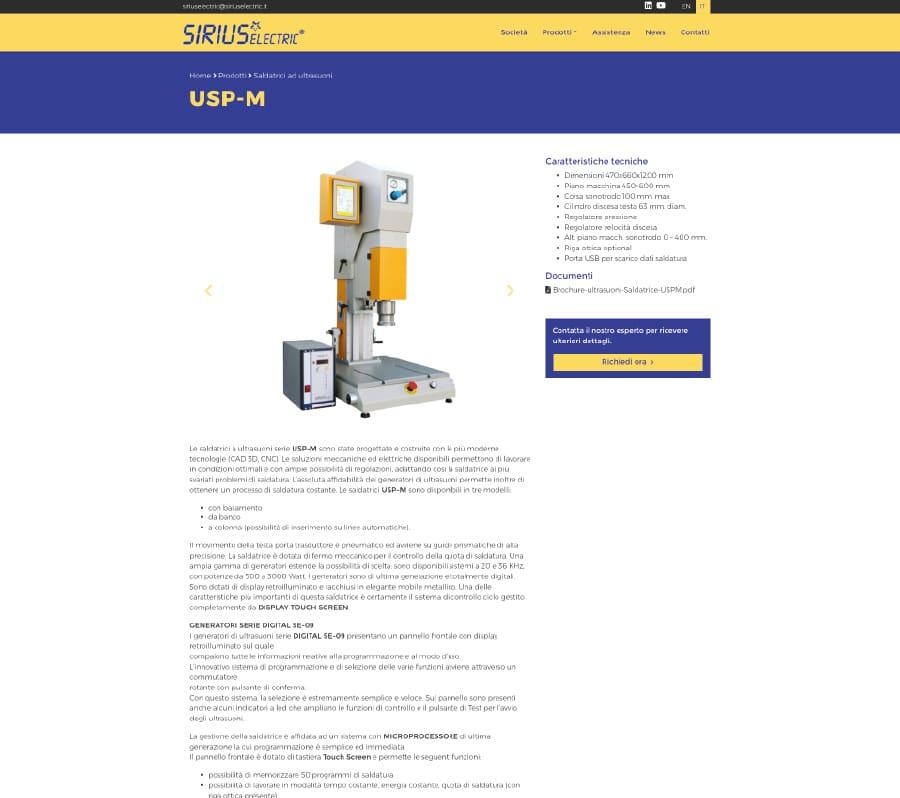 Portfolio Sirius Electric