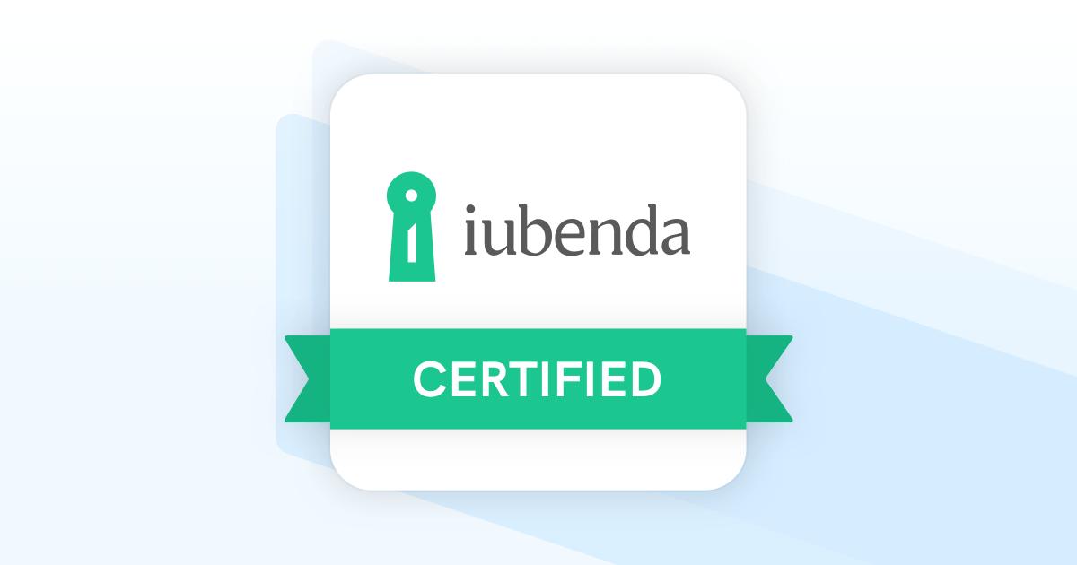 KAUKY Partner Certificato Iubenda